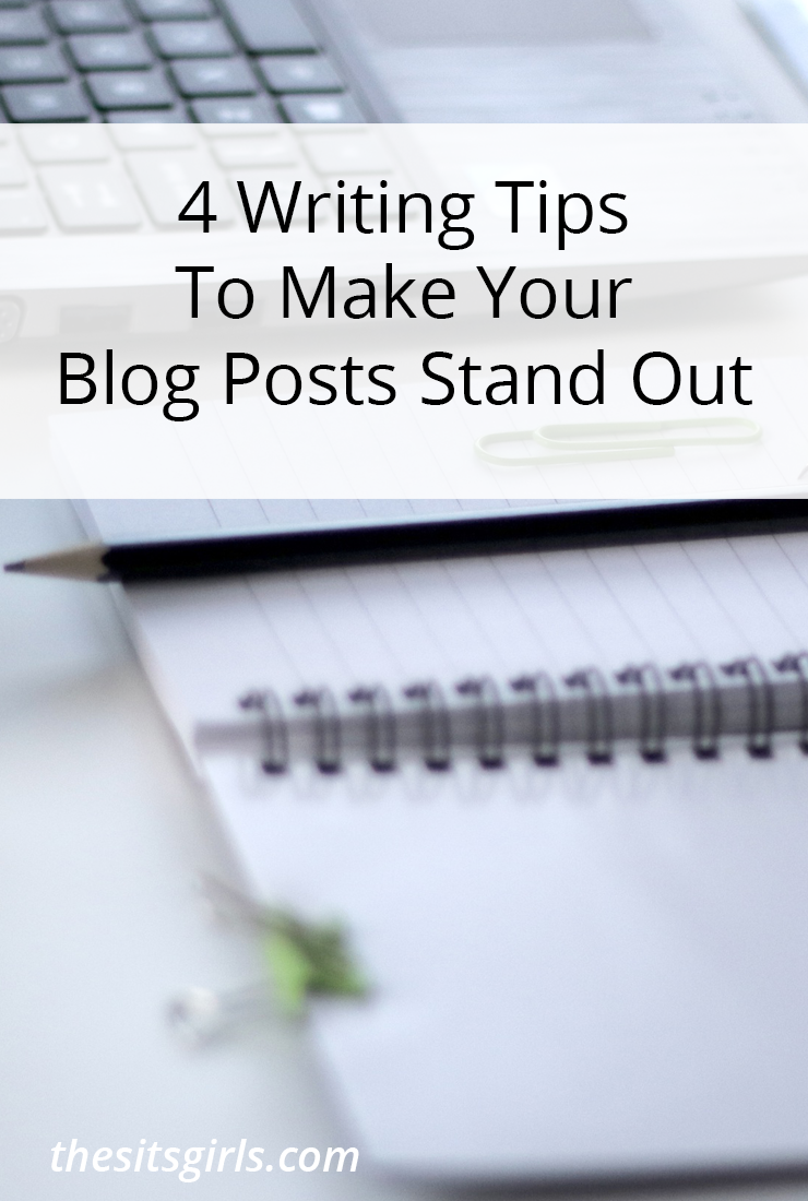 Writing Tips that will help you craft blog posts that stand out and get read.