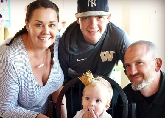 Tiffany Romero and Family