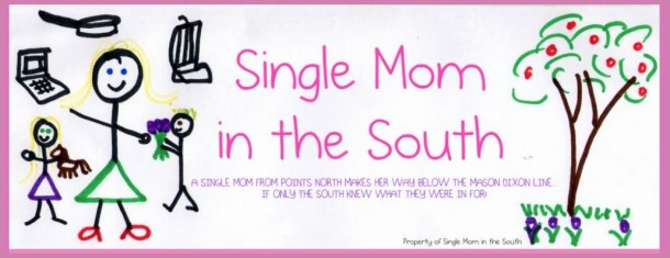 Single mom in the south