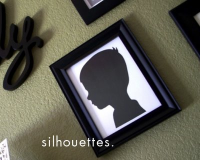 Make your own silhouettes art projects homemade mothers day gift first grab your subjects and have them stand in front of a contrasting wall in my case i used a white wall but a dark color would work just as well get solutioingenieria Image collections
