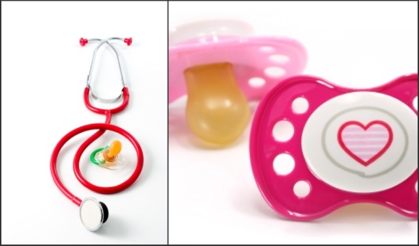 pacifiers and babies