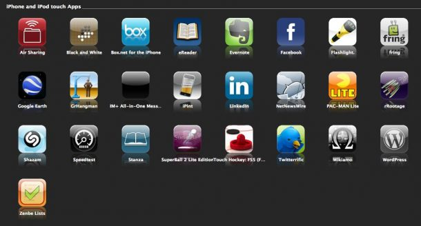 cool iphone apps