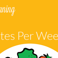 Learn how to meal plan in 15 minutes a week
