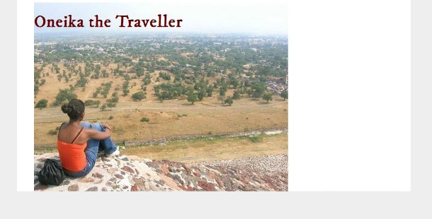 Oneika the Traveller