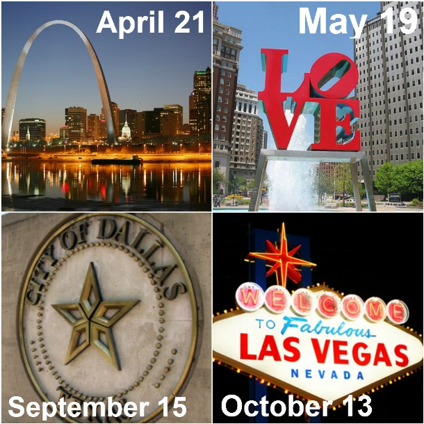 Blogging and social media conferences Philadelphia PA, St. Louis MO, Dallas TX, Las Vegas NV