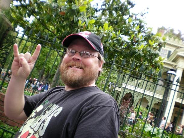 Bill at Disneyland-1