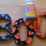 Halloween Crafts: A BOO-Tiful Door Hanger For You