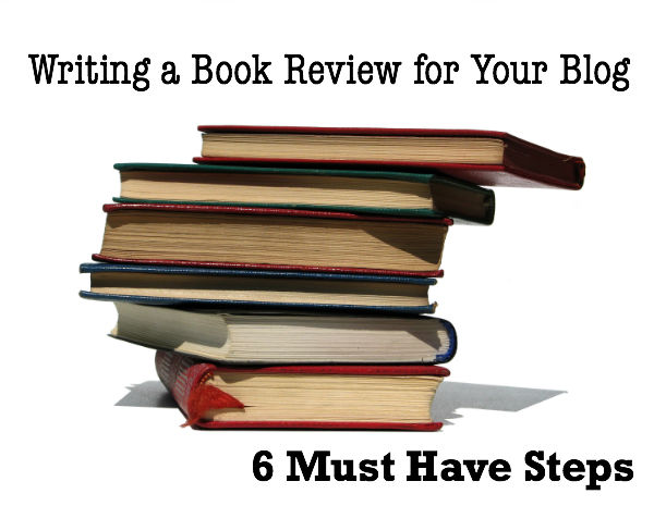 how to write a book blog review for your blog