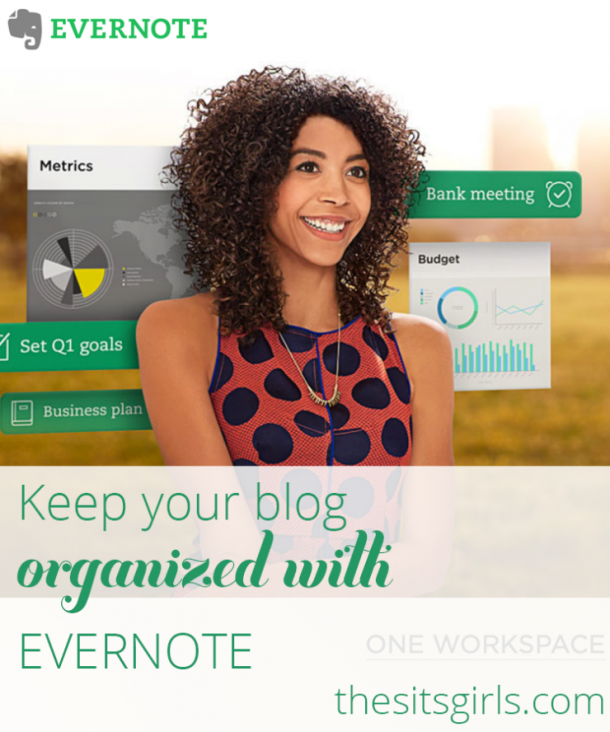 It is time to get organized! Learn how Evernote can help you organize all your blogging ideas. Evernote Tips | Blogging Tips