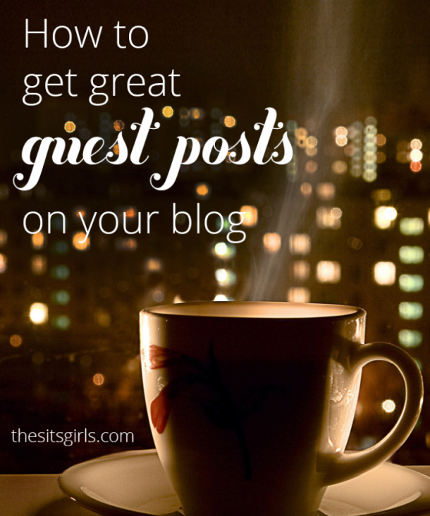 Are you ready to open your blog up for guest posts? These 8 tips will help you get great content for your blog.   Blogging Tips