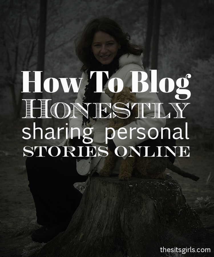 4 tips to help you navigate writing personal stories online.