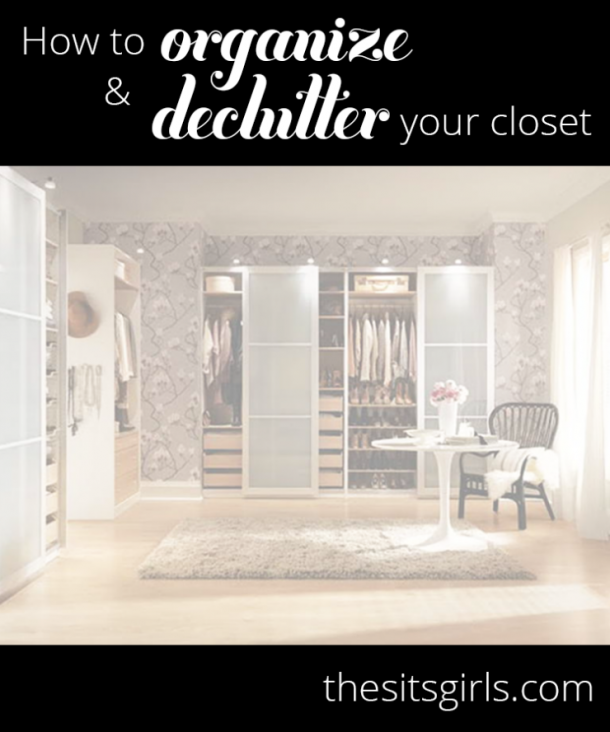 Easy steps to help you organize your closet. Learn what you can toss or donate, and what you should keep.   Closet Organizing Hacks