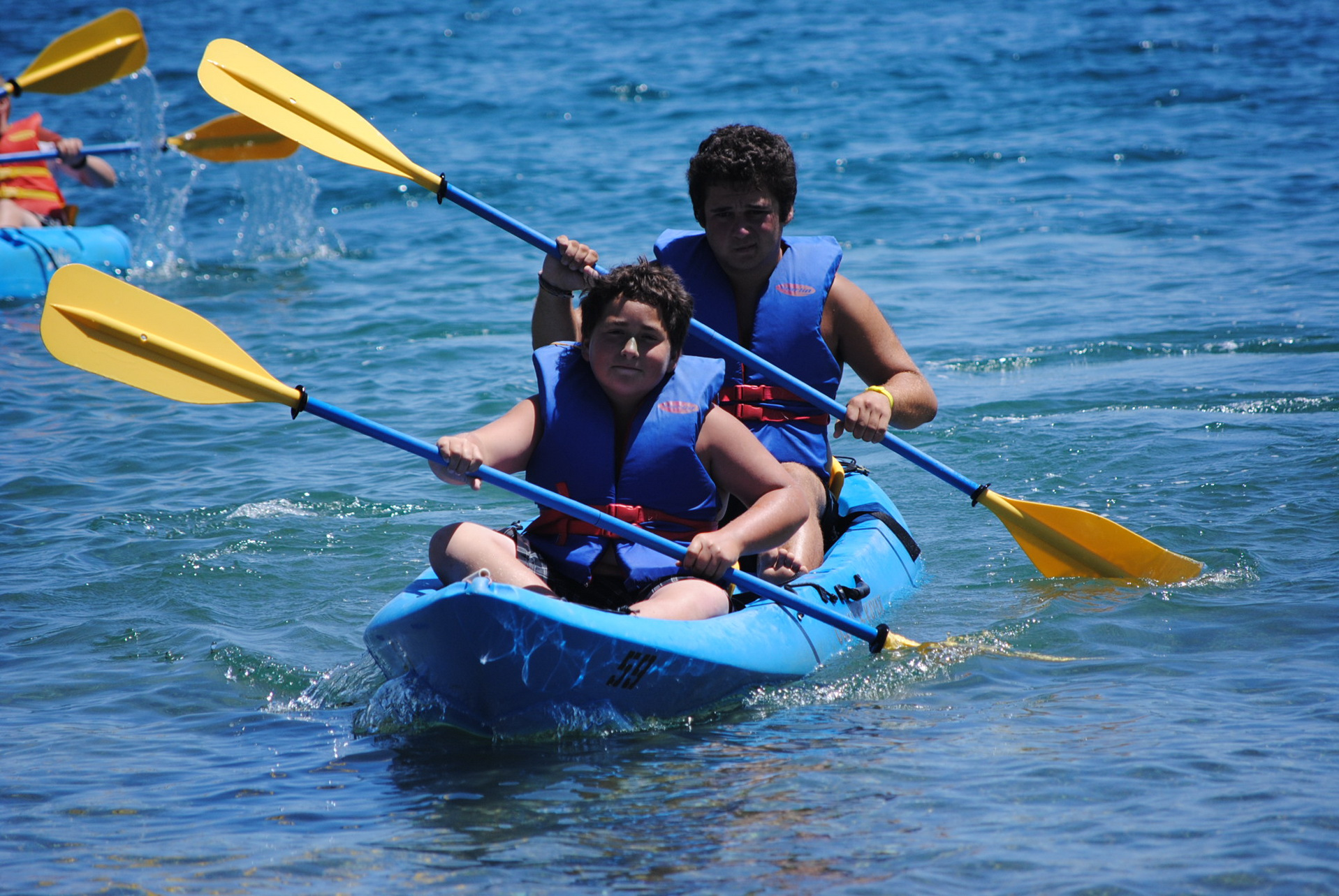 Catalina Island Camp Kayaking