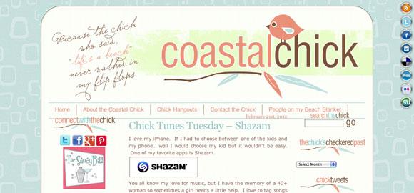 Blog Critique: Coastal Chick