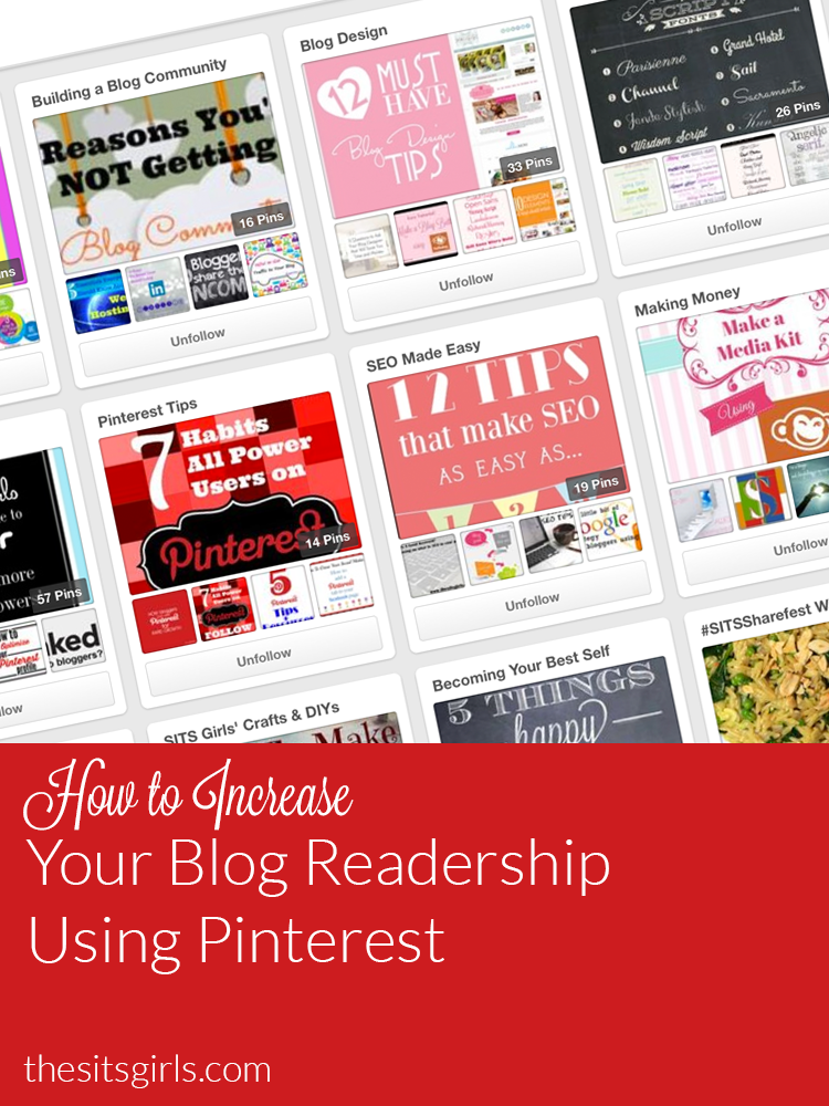 Are you looking for ways to increase your blog readership? Pinterest is the perfect place to start! Blogging | Social Media | Bloggers