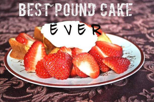 pound cake recipes from scratch