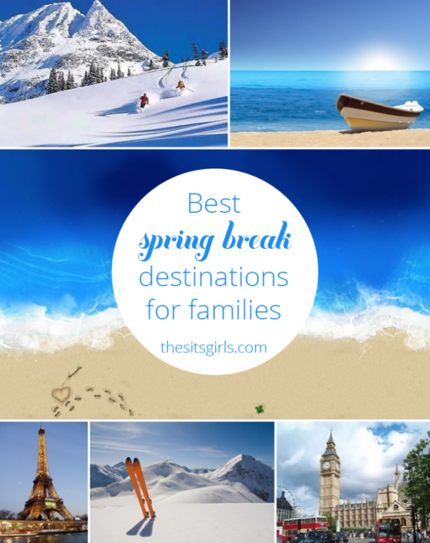 Get ready for the best Spring Break EVER! Great tips for picking the perfect Spring Break destination for your family.