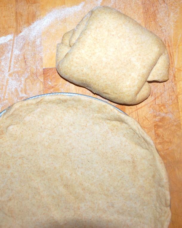 whole wheat dough
