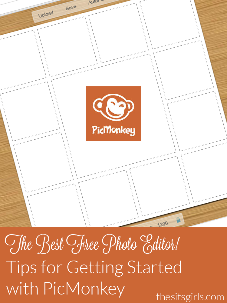 A quick and easy tutorial to help you use PicMonkey to edit photos for free. Great resource for bloggers.
