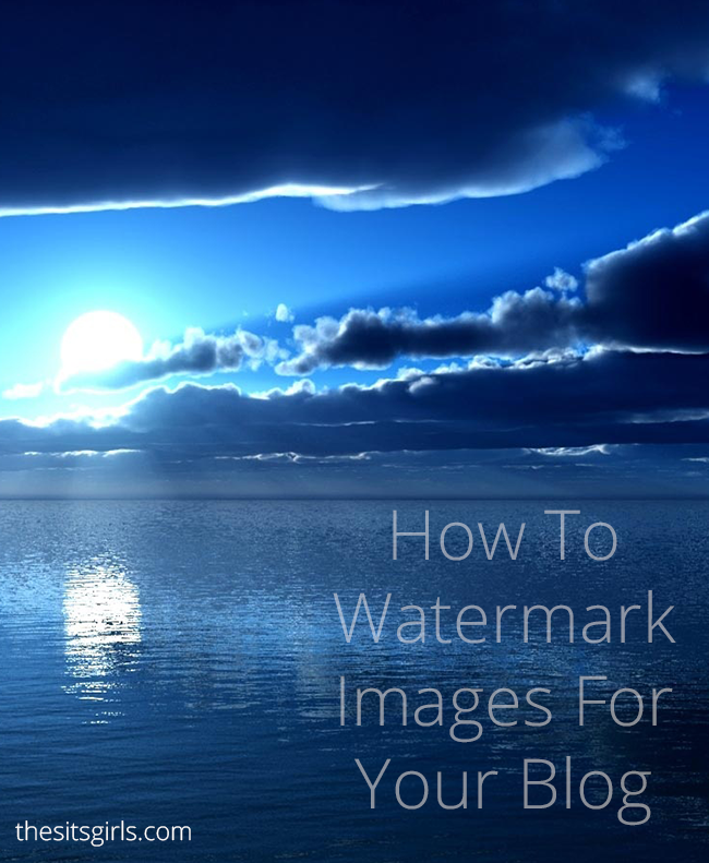 Blogging Tips | Protect your images online by adding watermarks. Click through for an easy tutorial to help!