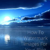 How To Watermark Images & Why You Should