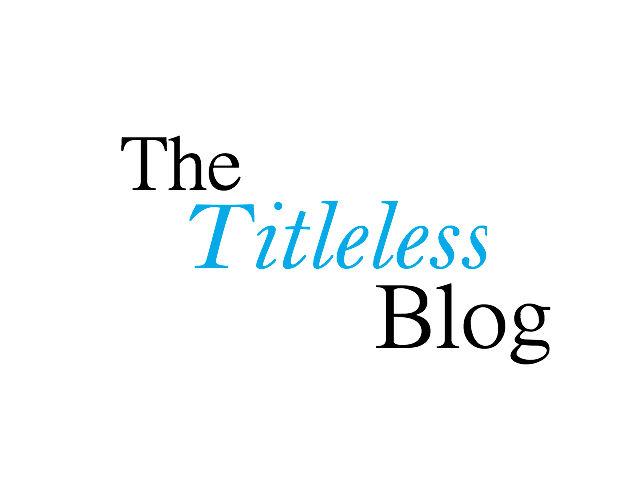 Titleless Blog
