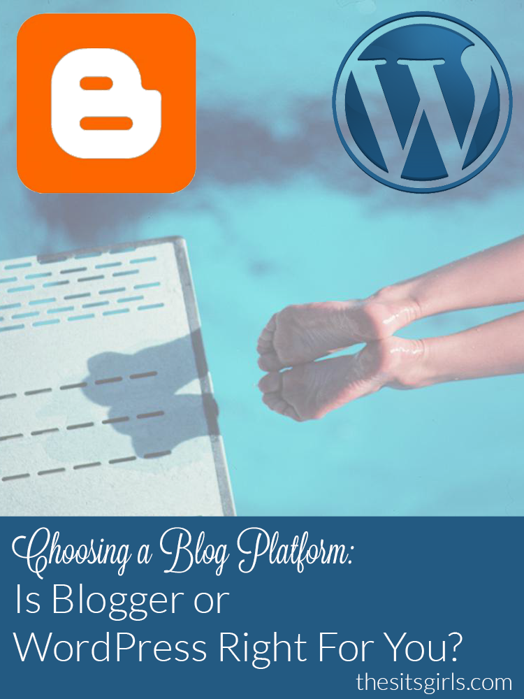 How to choose which blog platform is right for you - blogger or wordpress.