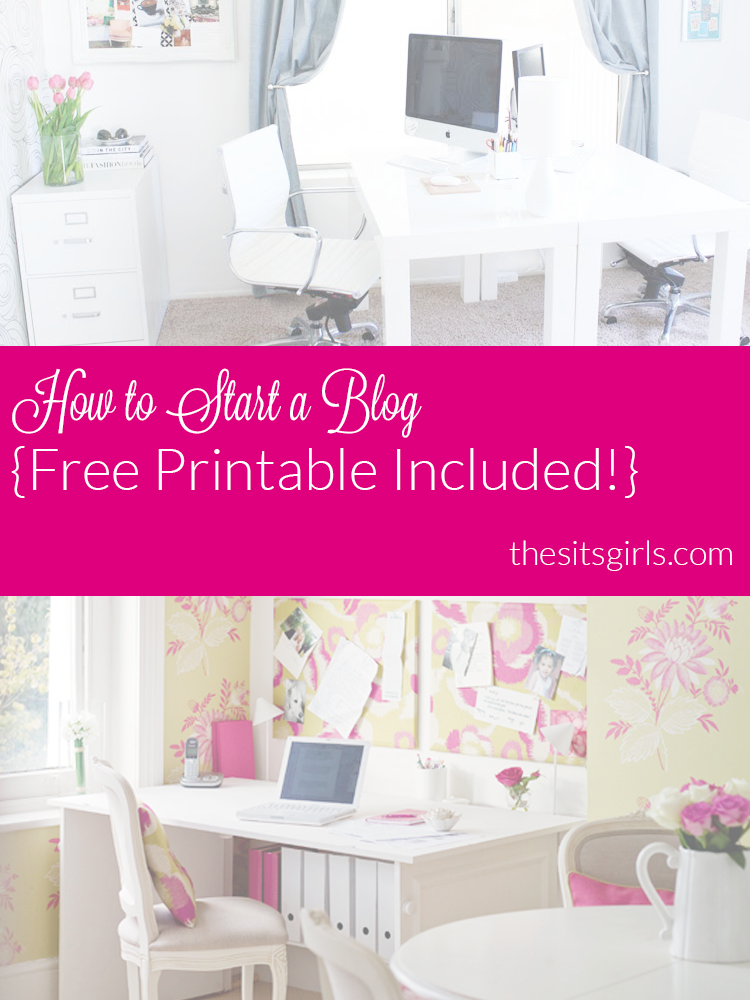 Do you want to start blogging? Here is everything you need to know to start a blog. PLUS a free printable checklist to help you get organized.