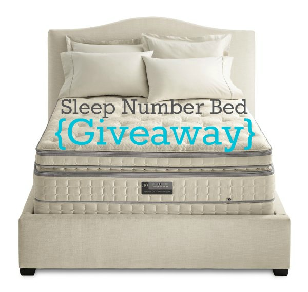 I Heart My Sleep Number Bed {You Can Win One Too!}