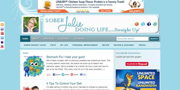 Blog Critique: Sober Julie
