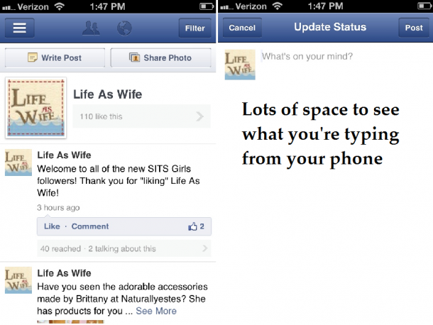 how to keep new posts out of newsfeed