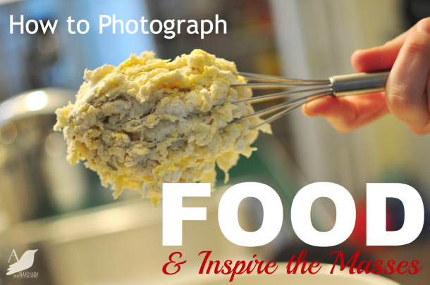 taking pictures of food