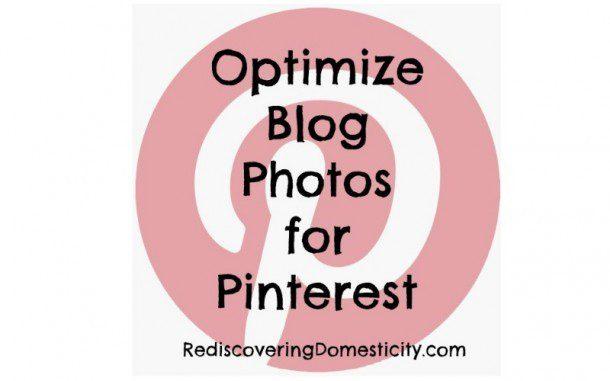 optimize photos for pinterest
