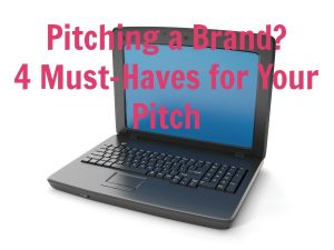 tips for pitching a brand