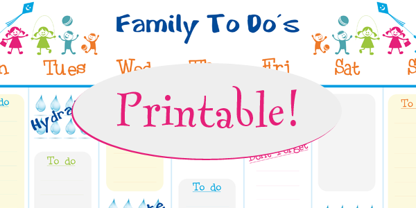 Free Calendar Printable For Your Family Free Calendar Template