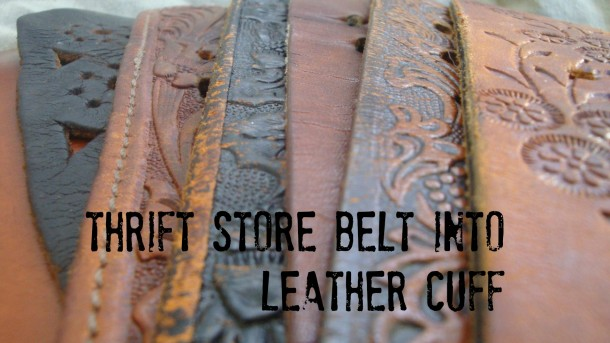Thrift Store Belts