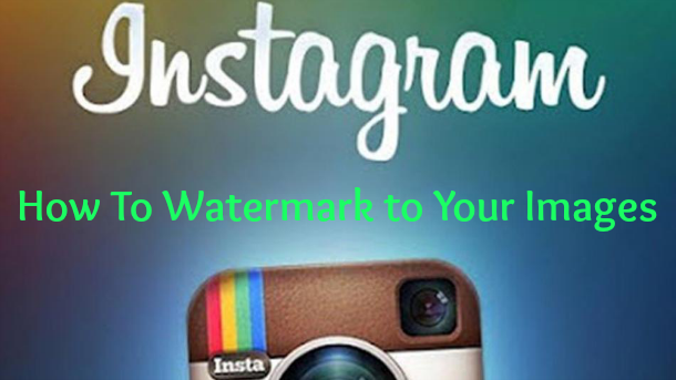 how to make a watermark for instagram how to use iwatermark