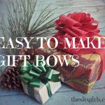 Craft Bows: Make Your Gift Giving Beautiful at Christmas