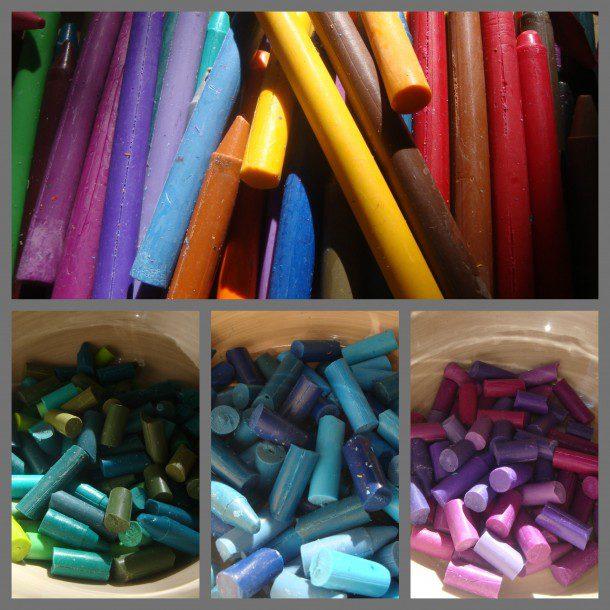 crayon diy