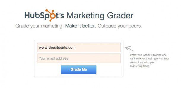 website grade