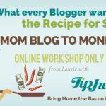 $199 Mom Blog Money Blog E-Course Giveaway