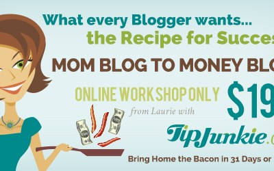 $199 Mom Blog Money Blog E-Course Giveaway