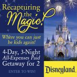 Win a Trip to Disneyland for Two!
