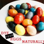 All About Easter Eggs: Using Food Colors to Create Naturally Dyed Easter Eggs