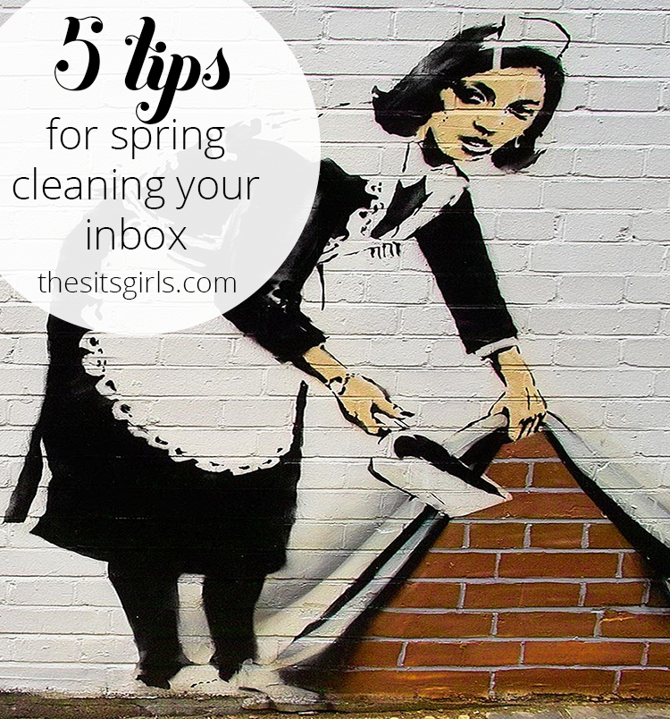 Organize your email with these five tips for spring cleaning your inbox.