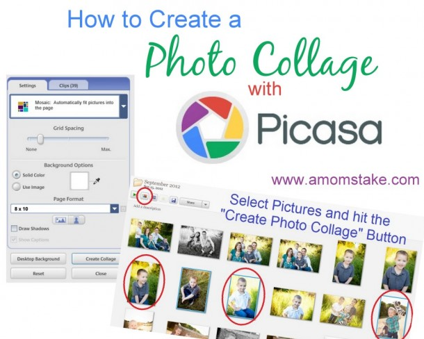 how to make picassa pictures