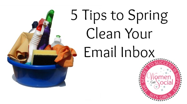 5 tips to organize your email inbox how to organize email - Five tips for quick cleaning ...