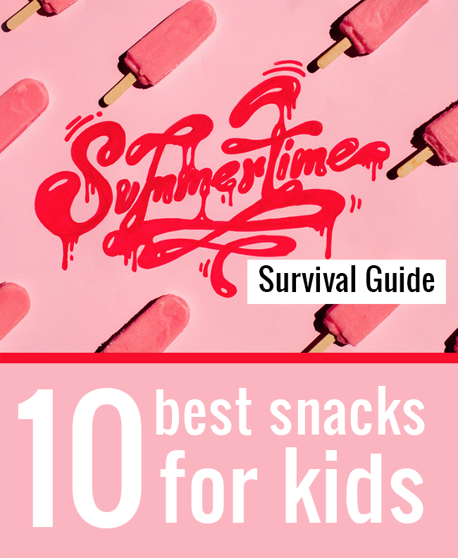 Summer Snack Food | 10 fun and easy snacks your kids can make this summer!