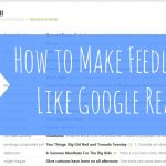 Feedly: The Google Reader Replacement?