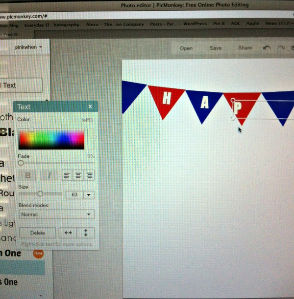 How to Make a Printable Using PicMonkey
